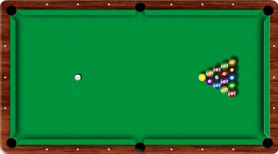 8-ball begin opstelling