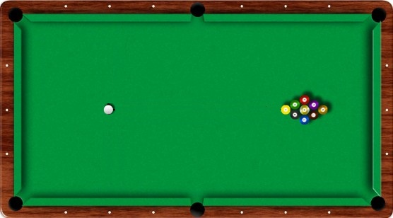 9-ball begin opstelling
